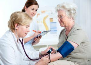 Контрольные замеры артериального давления