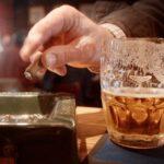 Чрезмерное употребление табака и алкоголя