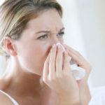 Насморк, трудности дыхания носом