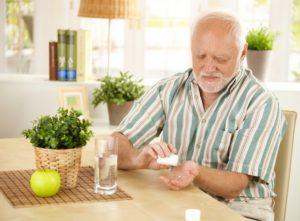 Прием таблеток позволяет улучшить общее самочувствие пациента