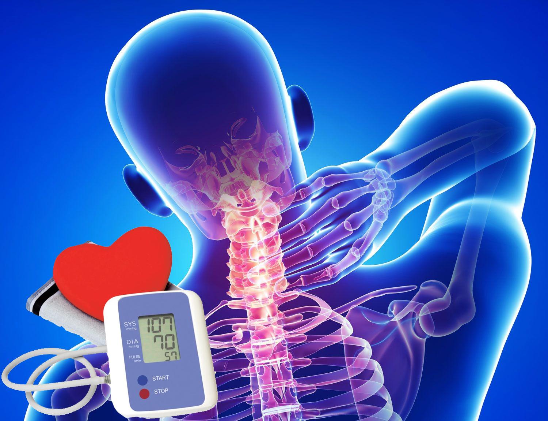 Шейный остеохондроз и пониженное давление