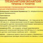 Состояние преэклампсии и эклампсии
