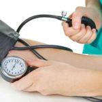 Уменьшение показателей артериального давления