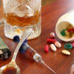 Употребление алкоголя, наркотиков, курение