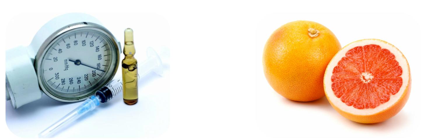 Влияние грейпфрута на давление гипертоника