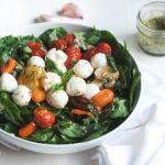 Кето-салат Капрезе