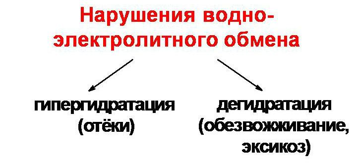 Водно-электролитный баланс